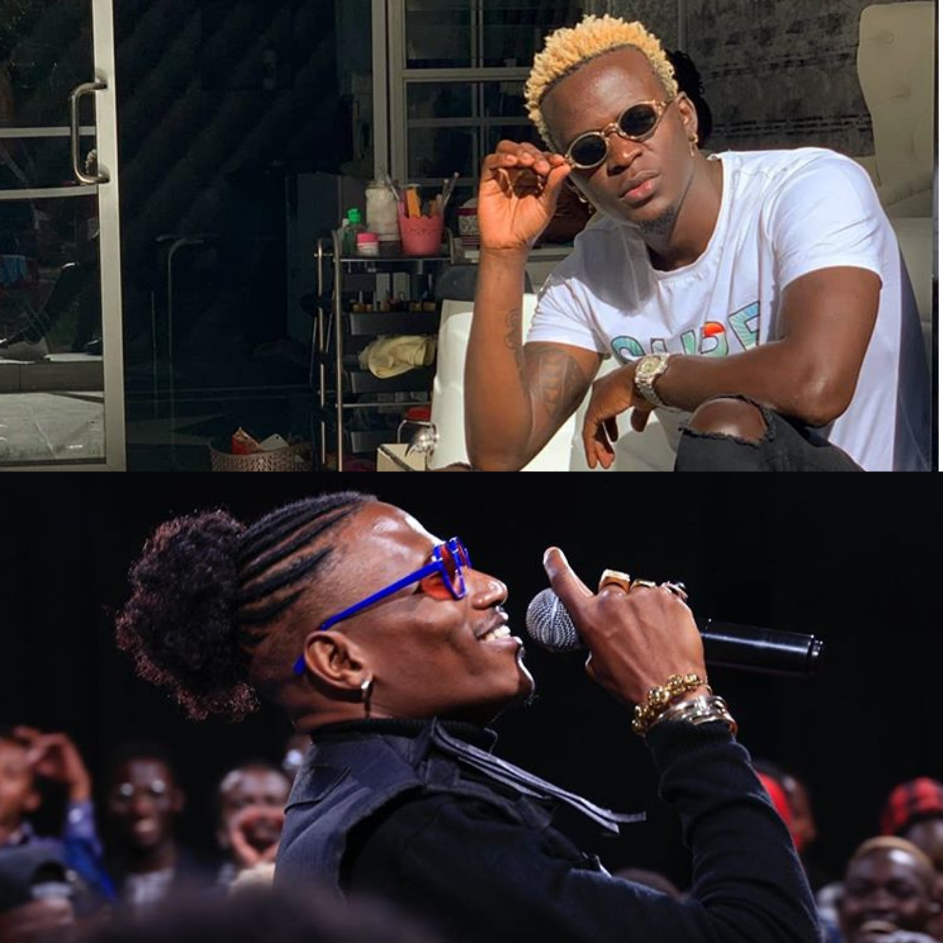 Octopizzo's chilling message to Willy Paul on secular music