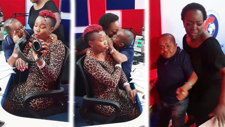 Video: Horny Mwala Wants Citizen Radio Presenter Melody Sinzore To Admit That She's His Wife