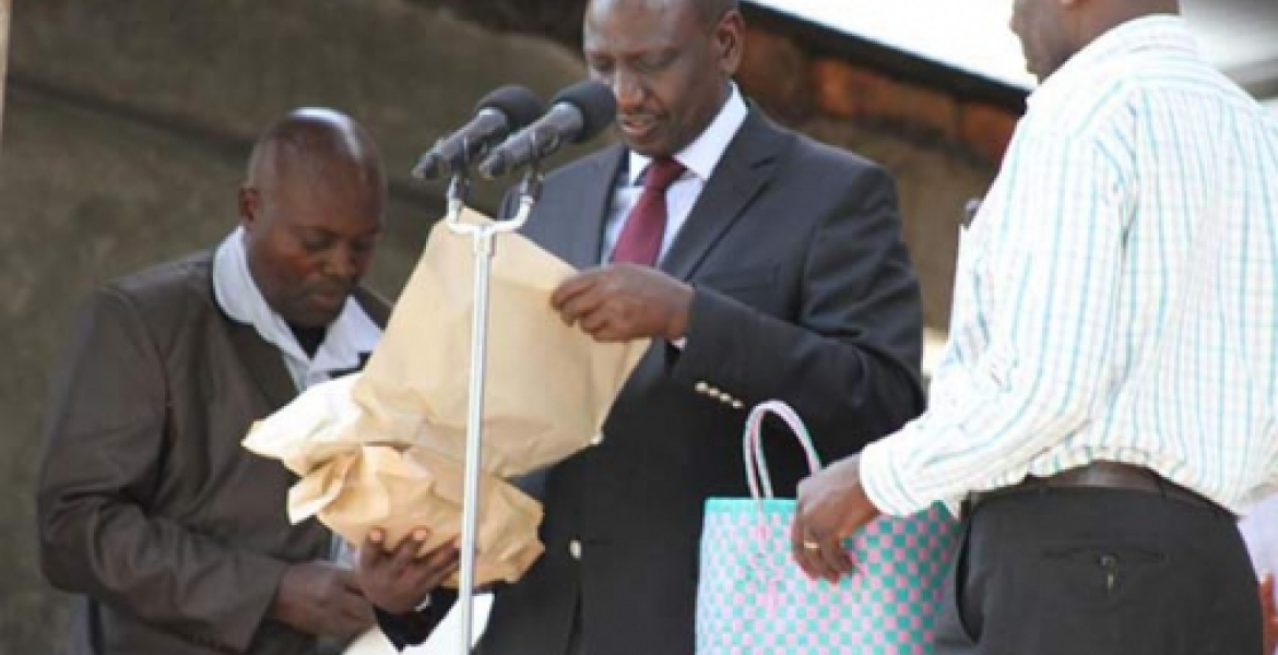 Ruto daring Raila with referendum is an act of a good schemer