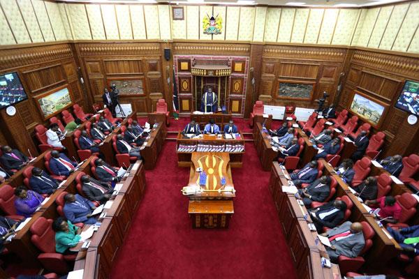 Senator Yusuf Haji's Son Takes the Oath