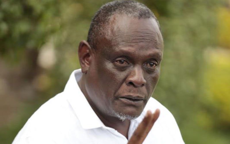 Photos of Murathe's Son washing hands with Expensive Champagne Emerge