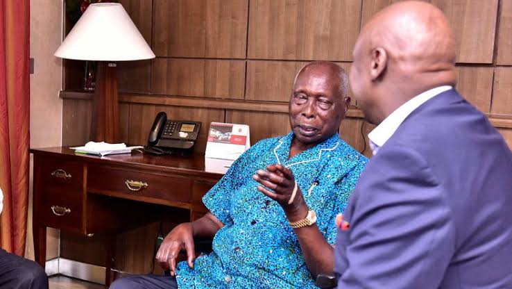 Family speaks on rumours about Mzee Moi's health