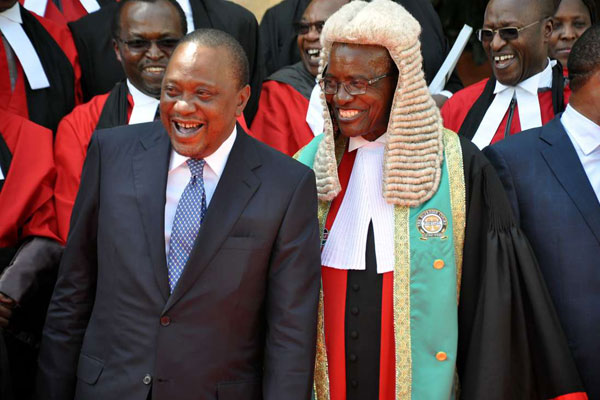 Uhuru speaks on CJ Maraga's calls to have Parliament dissolved