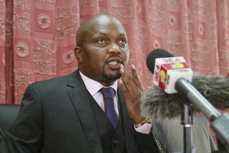 Controversial Gatundu South MP Moses Kuria Breaks Promise To Stay Out Of Twitter