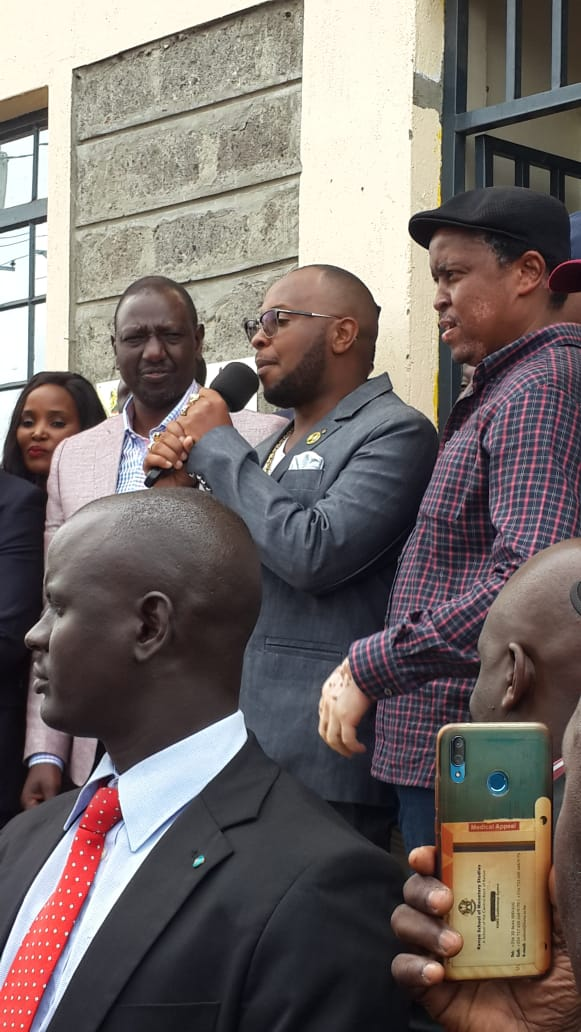 Embakasi West leaders reemerge as Ruto launch projects