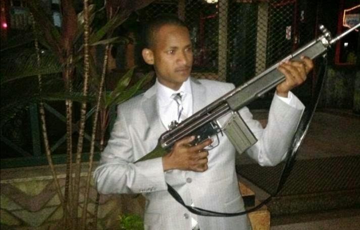Embakasi East MP Babu Owino Shoots Reveller