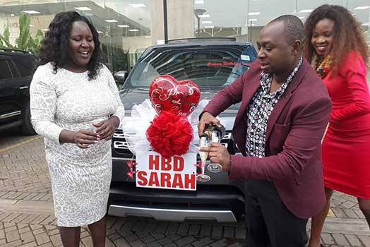 Slayqueens have been seducing my husband since he gifted me with a Range Rover – Bonfire's Simon Kabu's wife claims