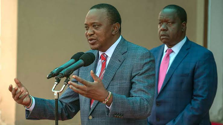 I used to send him to launch projects but he concentrates on politics! Angry President Uhuru Kenyatta says