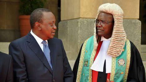 President Uhuru Kenyatta savagely responds to CJ Maraga's outburst