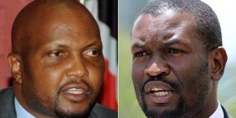 Moses Kuria takes on Edwin Sifuna in hot confrontation over BBI, asks Sifuna to be Jubilee secretary general