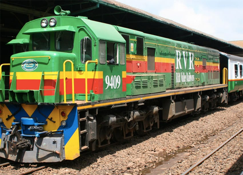 Rehabilitation of railway to Nanyuki has started