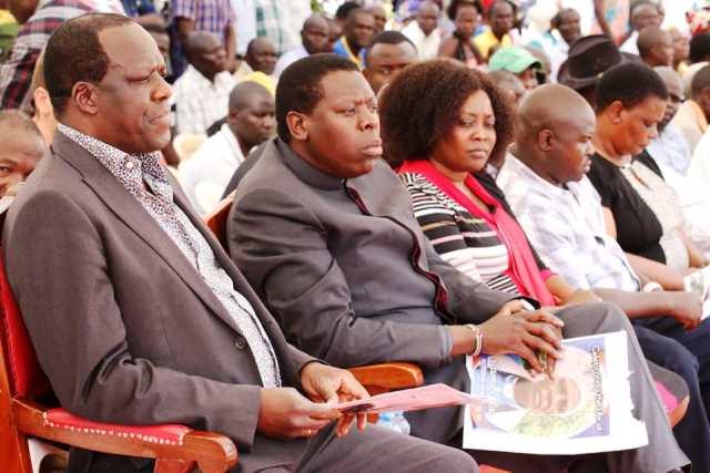 Luhya leaders hold a 'Kamukunji' before BBI forum