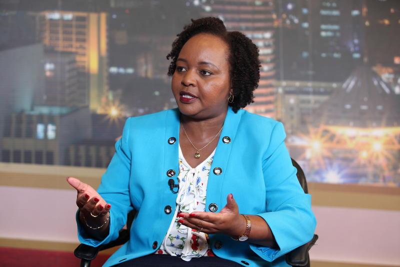 Waiguru lauds Uhuru for reshuffling the Cabinet