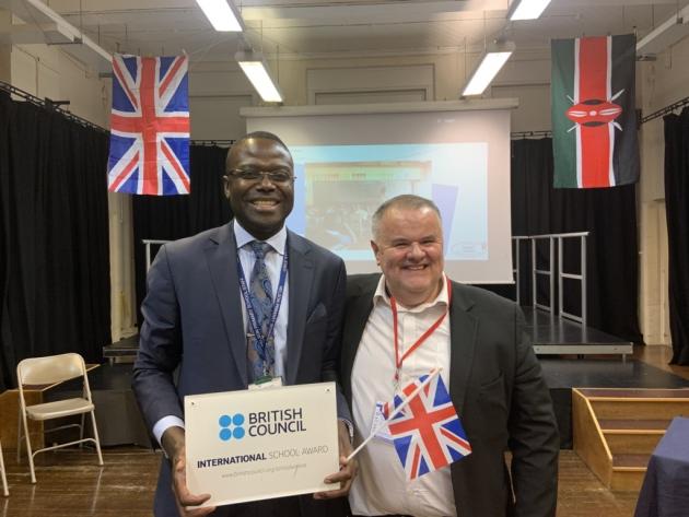 British teachers in Homa Bay for exchange programme