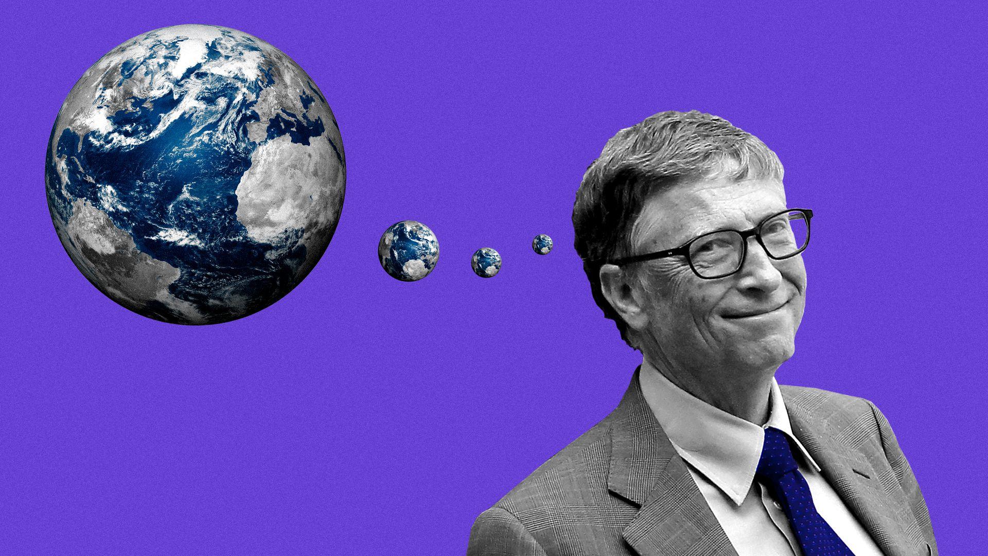 Microsoft founder Bill and Melinda closes the Gates