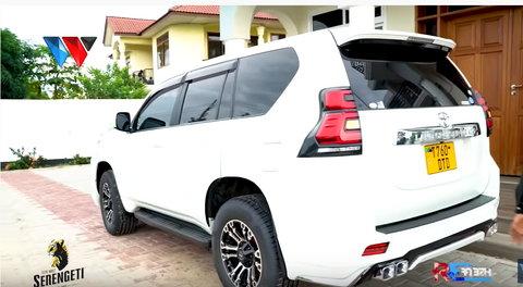 Did Diamond Platnumz give Mbosso Tanasha Donna's car gift?