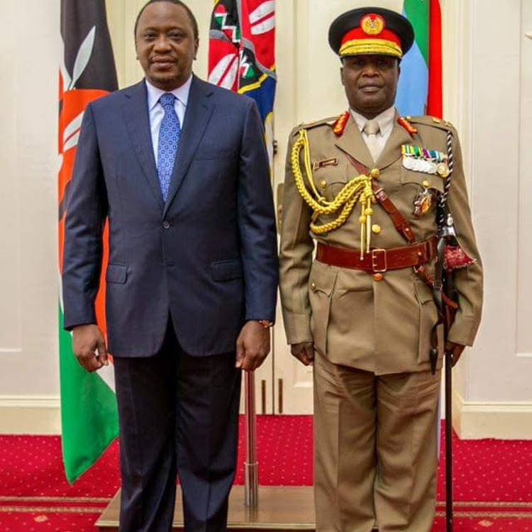 Samsom Mwatete retires as Chief of Defence Forces