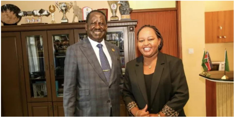 Inside Waiguru And Raila's Secret Night Meeting