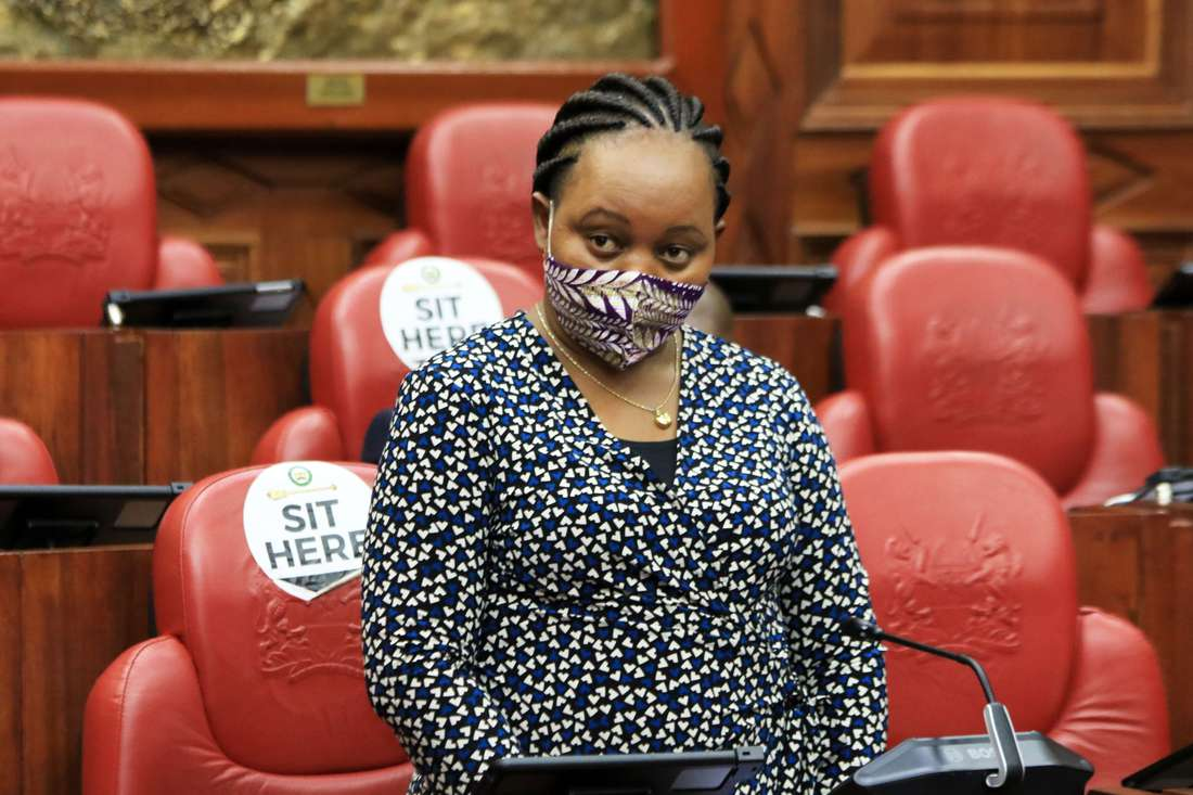 Waiguru says BBI is the root cause of her woes