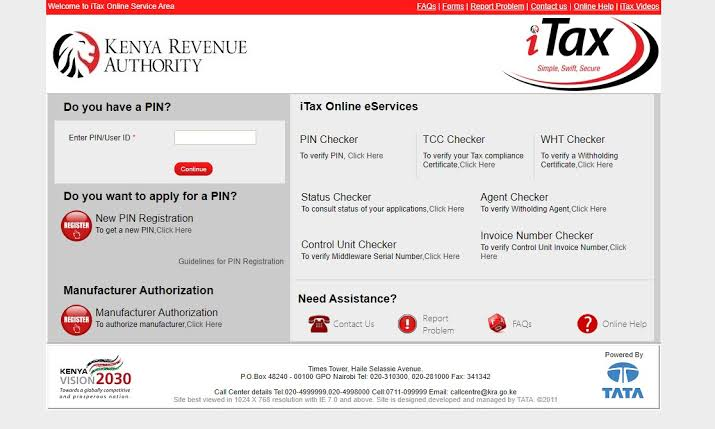 How to file KRA returns on iTax