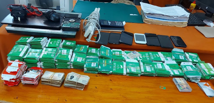 M-Pesa fraudsters arrested with over 600 sim cards in Machakos