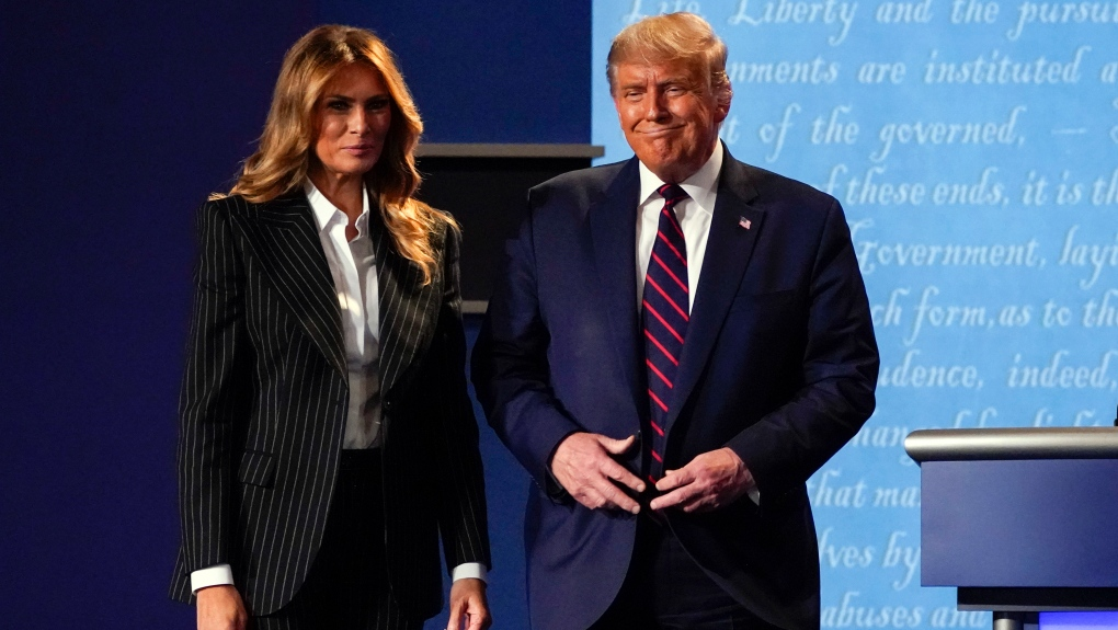COVID-19: US President Donald Trump and wife Melania test positive