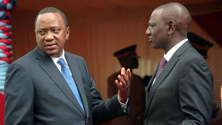 DP Ruto's birthday message to Uhuru elicits mixed reactions