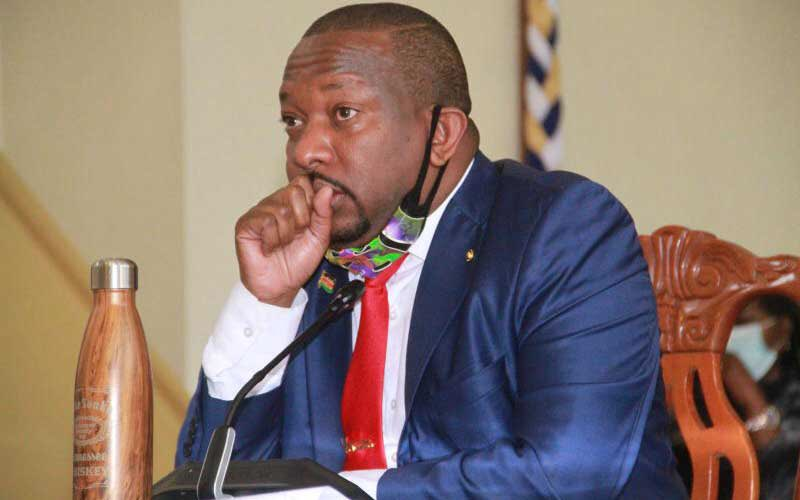 JUST IN: Nairobi Governor Mike Sonko arrested