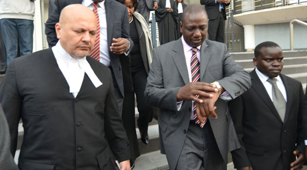 Kenyan lawyer Paul Gicheru in trouble at ICC