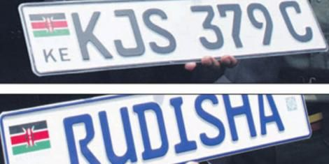 NTSA is Coming For Motorists With Personalized Number Plates