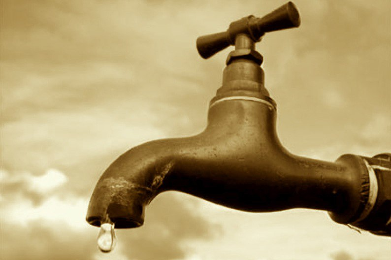 The following Estates will go without Water