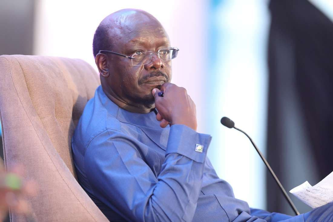 Tainted: A past corruption scandal by Mukhisa Kituyi