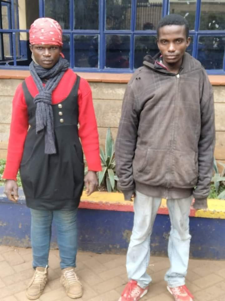 Police nab thugs in dresses