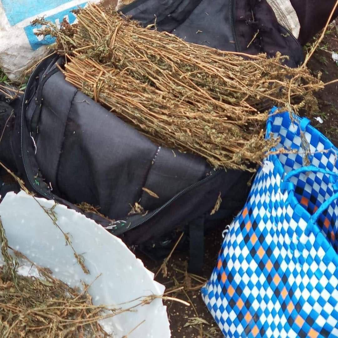 Photos: How Bhang is sold on an Open air market